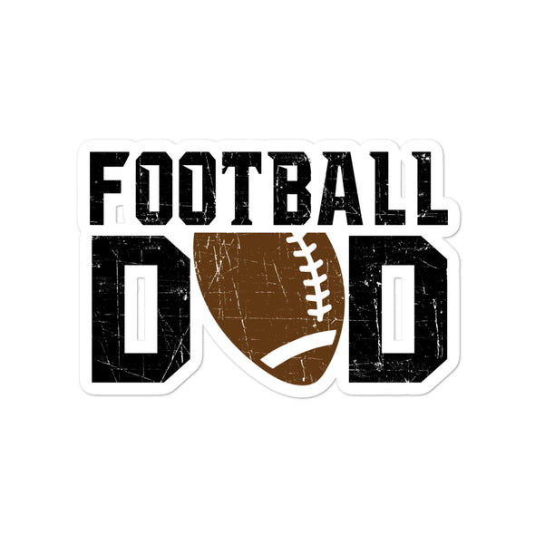Football Dad Stickers