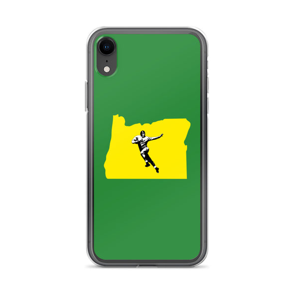 Oregon Football iPhone Case