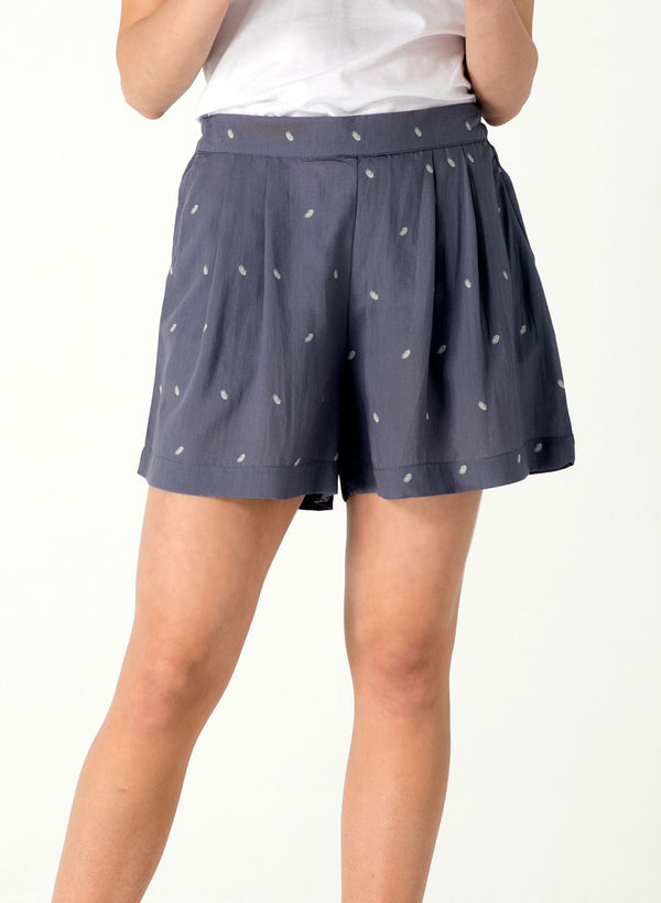 Allover Print Shorts aus Tencel™