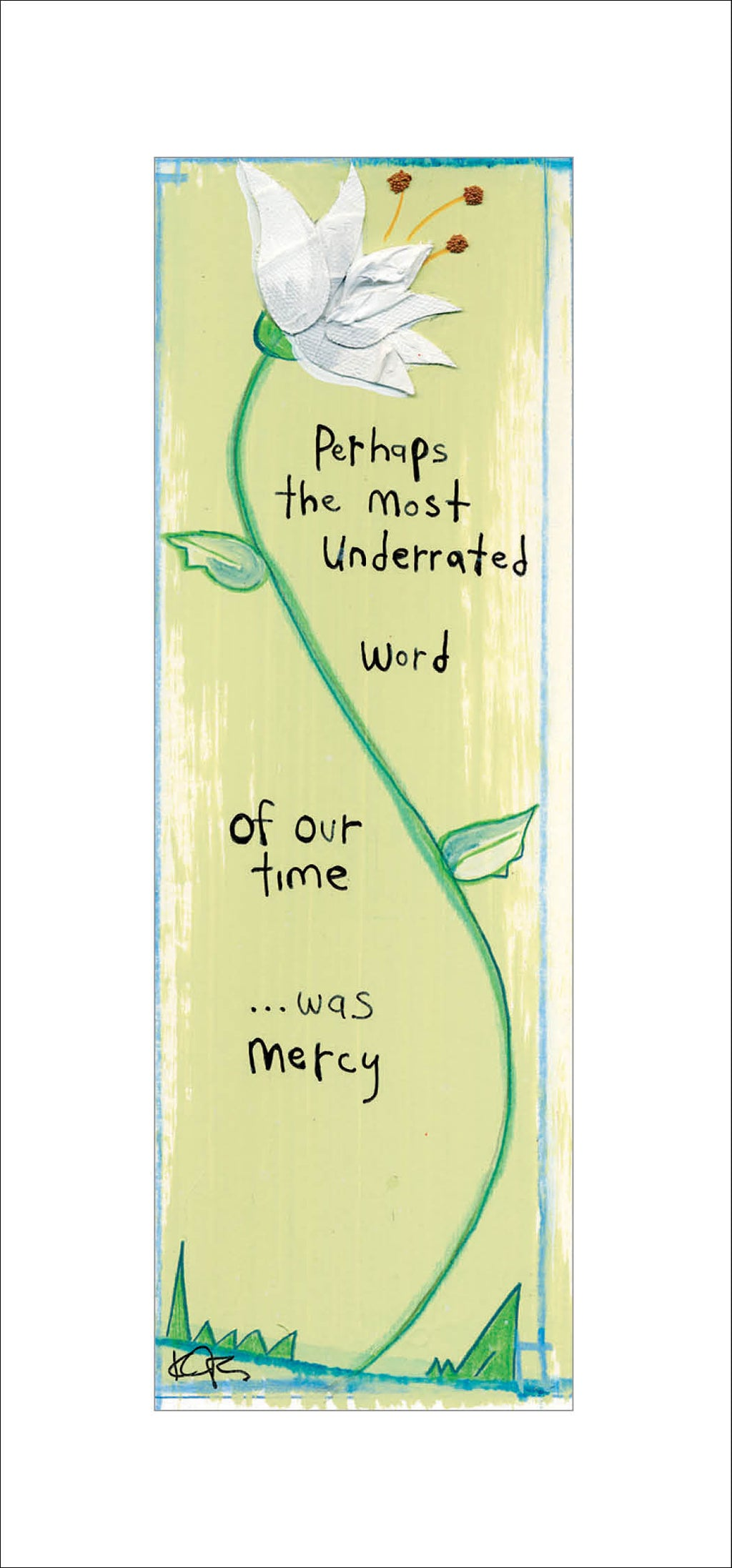 Mercy Greeting Card