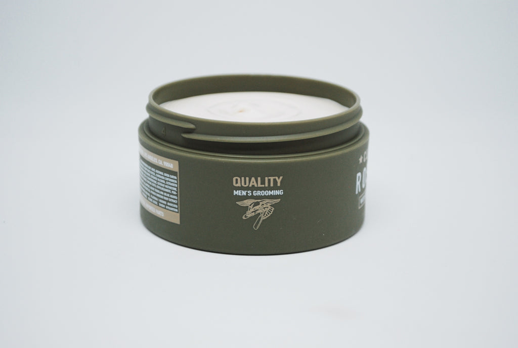 Clay Pomade, Heavy Hold, Matte Finish, Water Soluble
