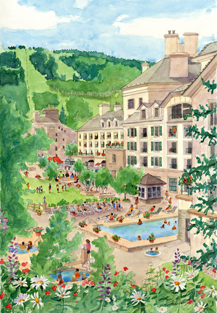 Summertime in Beaver Creek