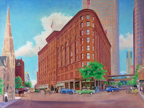 Brown Palace 125th Anniversary Painting