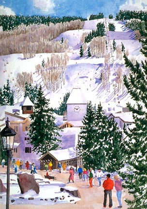 A Winter Afternoon, Vail