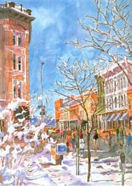 Larimer Square Winter