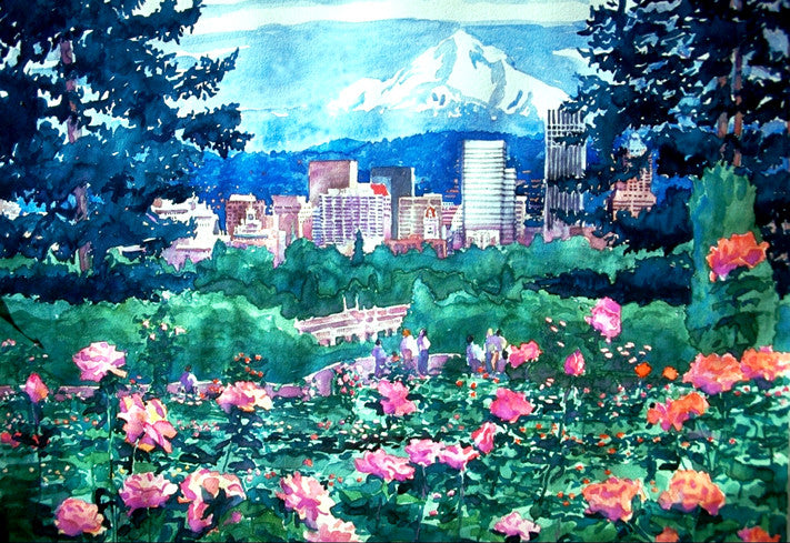 Portland, City of Roses