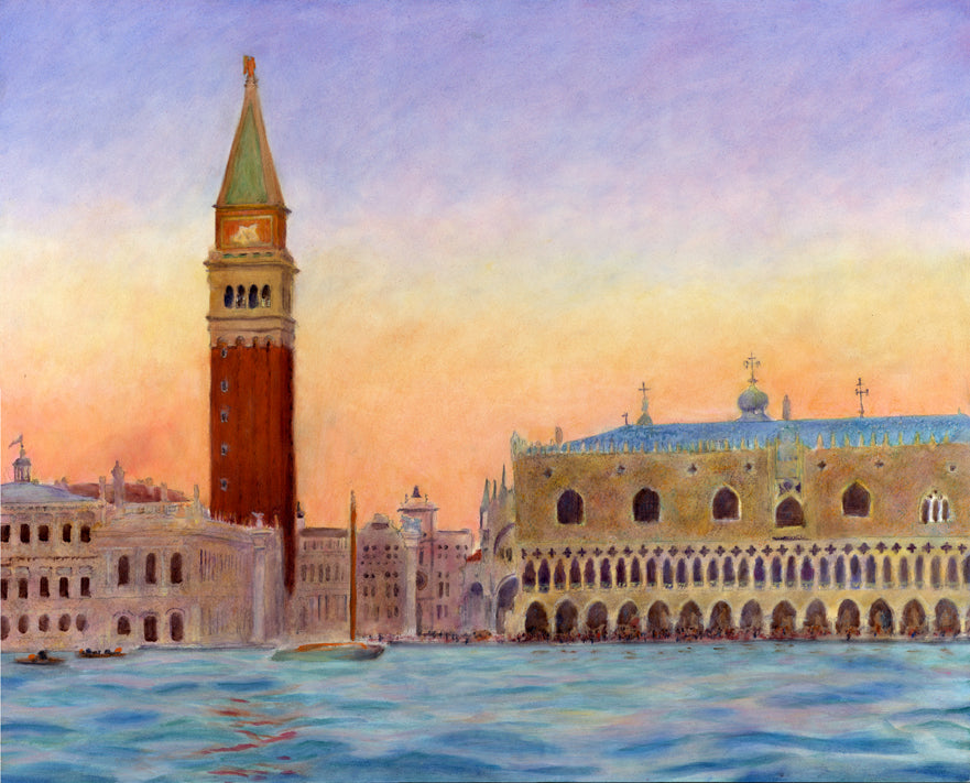 San Marco from the Water, Venice