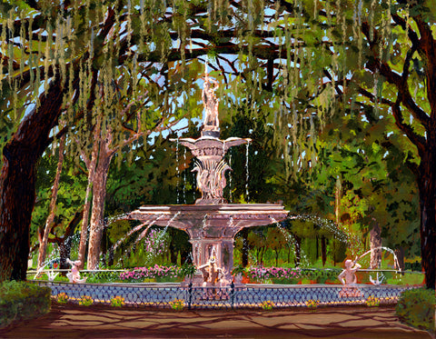 Forsyth Fountain, Savannah