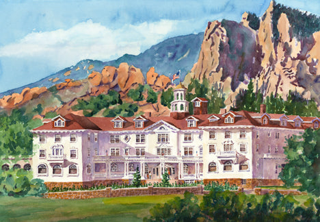 Stanley Hotel in the Summer
