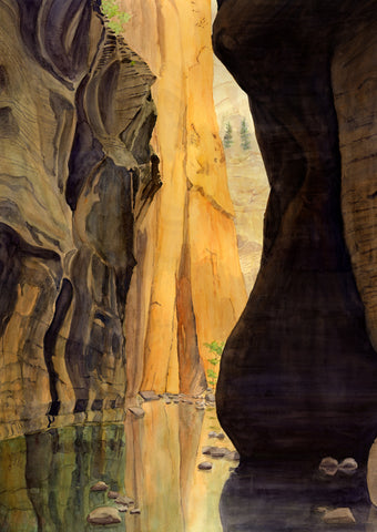 Zion Canyon: The Narrows