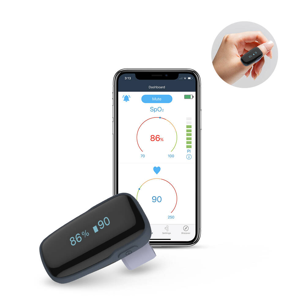 Image of Wellue Oxylink Wearable Pulse Oximeter