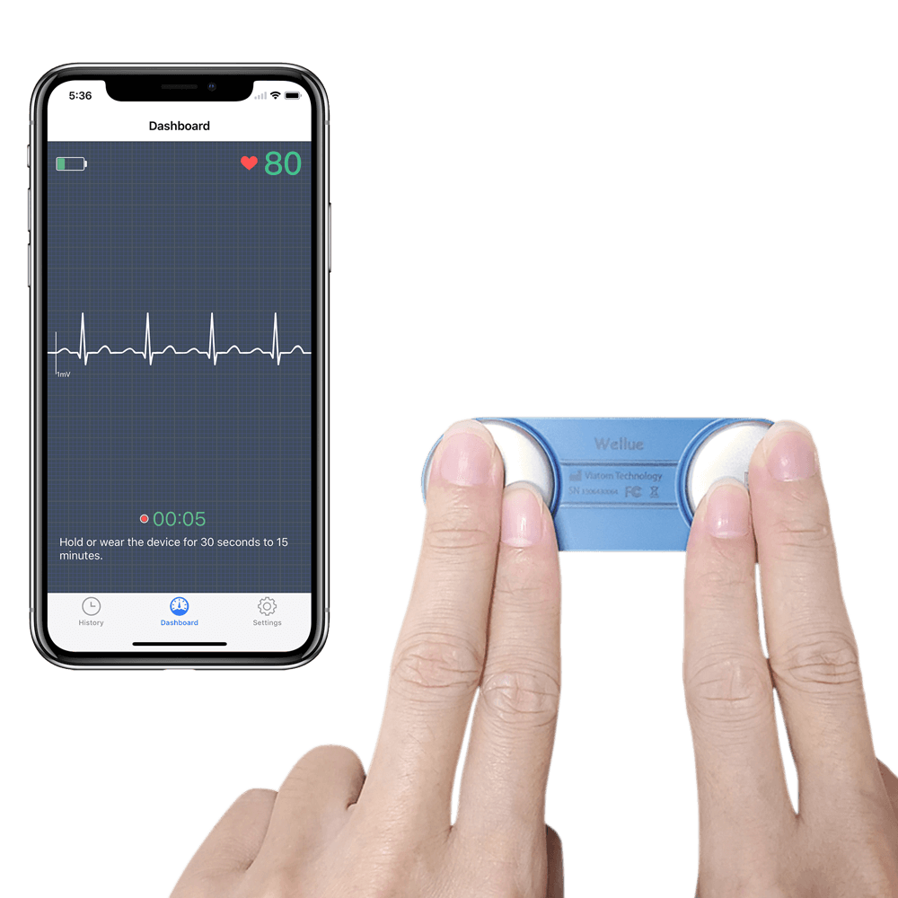 DuoEK™  Wearable EKG Monitor