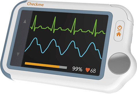 Checkme Lite Handheld Oximeter with ECG