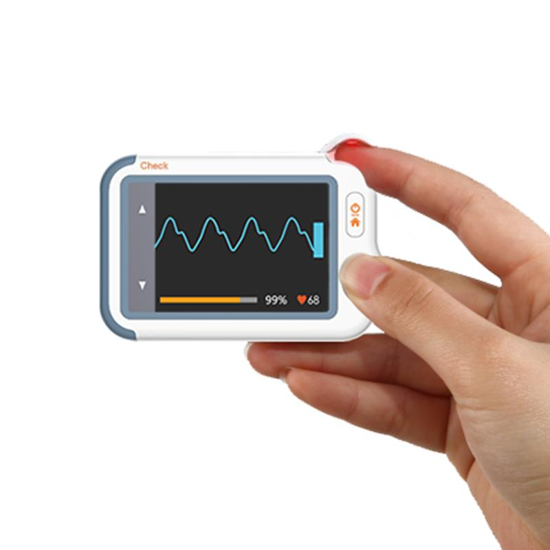 Checkme™ Lite EKG Monitor with Oximeter