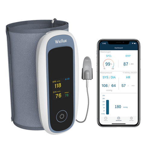 Blood Pressure Monitor with Oximeter