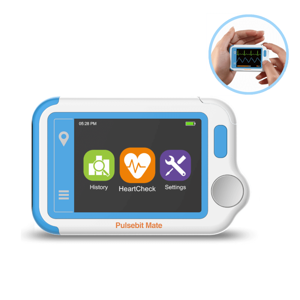 Pulsebit™ Mate ECG/EKG Tracker