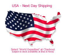 Next day shipping to USA option
