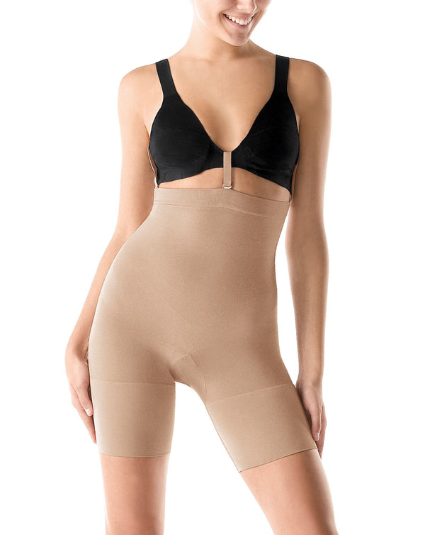 Spanx Slim Cognito Shaping Mid Thigh, Nude