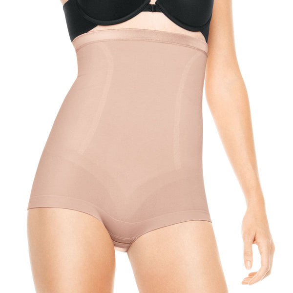 Spanx Slimmer and Shine High Waisted Body, Rose Gold