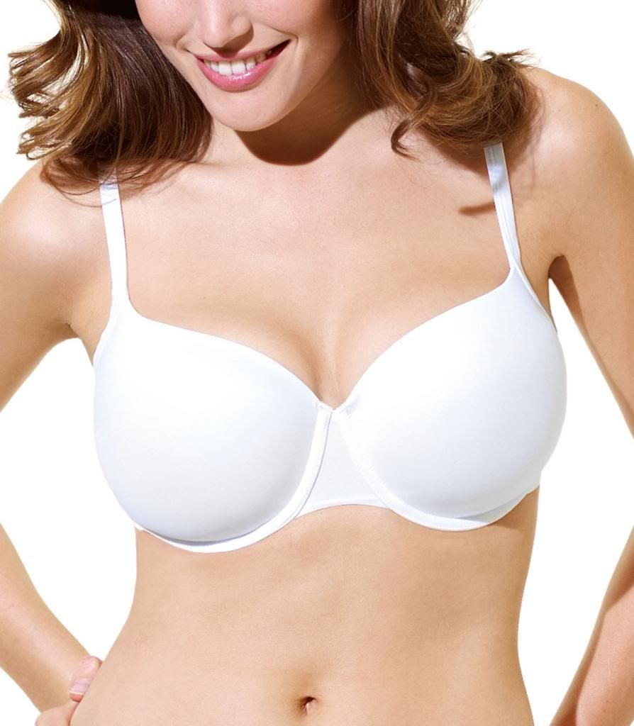 Panache Superbra Porcelain U/W Moulded T-shirt Bra, White