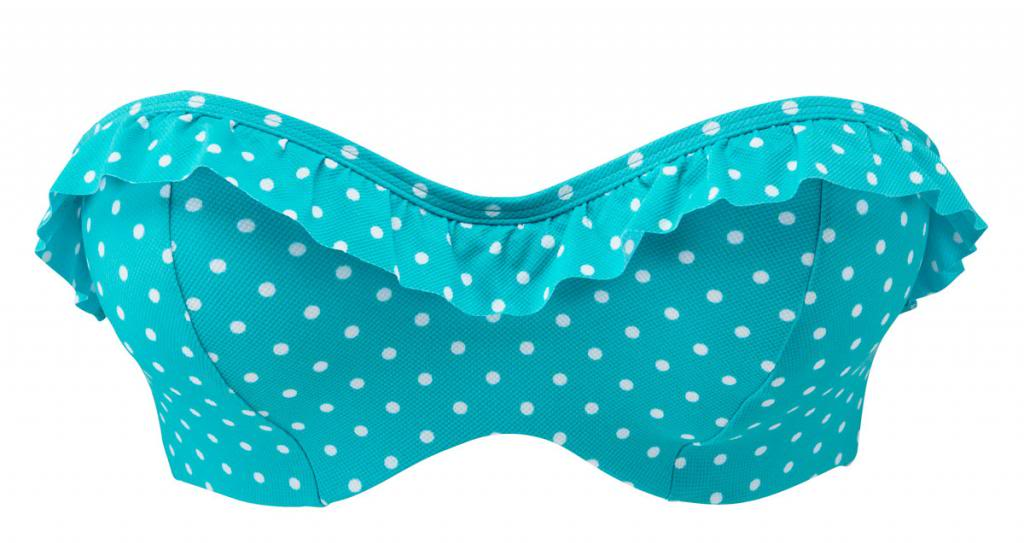 Cleo By Panache Betty, Aquamarine Betty Bandeau, Aquamarine