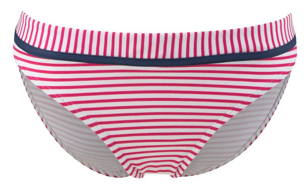Cleo By Panache Lucille Bikini Brief Pant, Strawberry