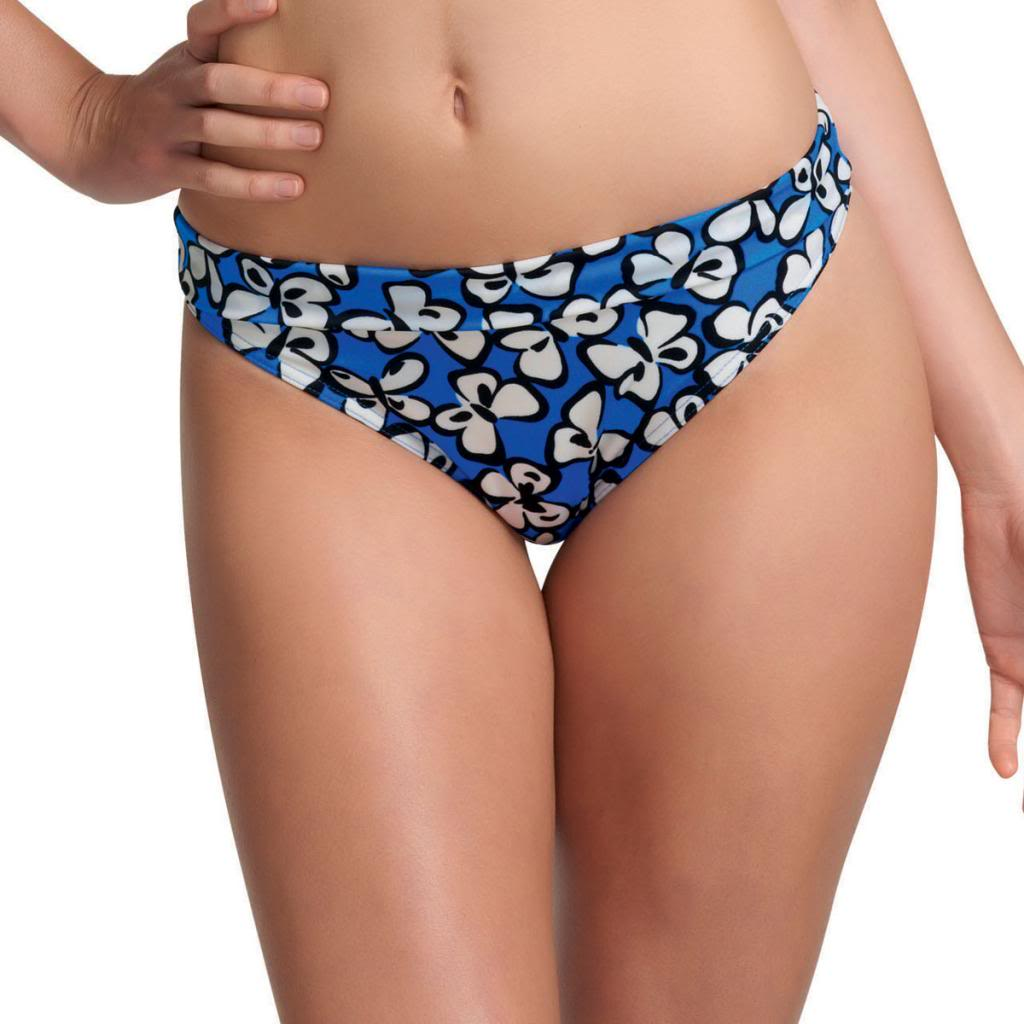 Freya Madame Butterfly Fold Brief, Cobalt