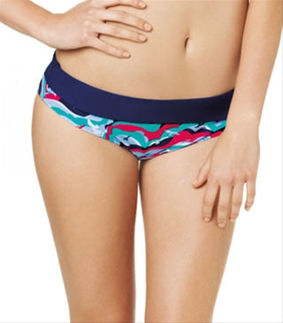 Cleo Tilly by Panache Swimwear Tilly Fold Brief Bird Print