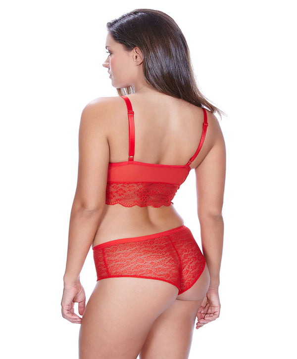 The Freya Fancies Hipster Short in Chili Red