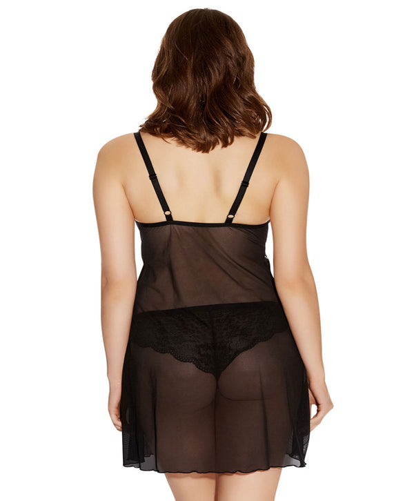 Freya Fancies Chemise, Black