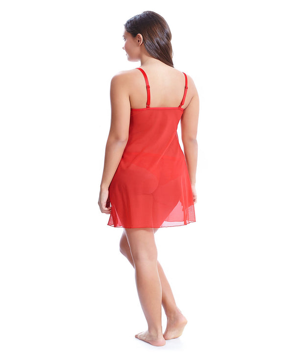Freya Fancies Chemise, Chili Red