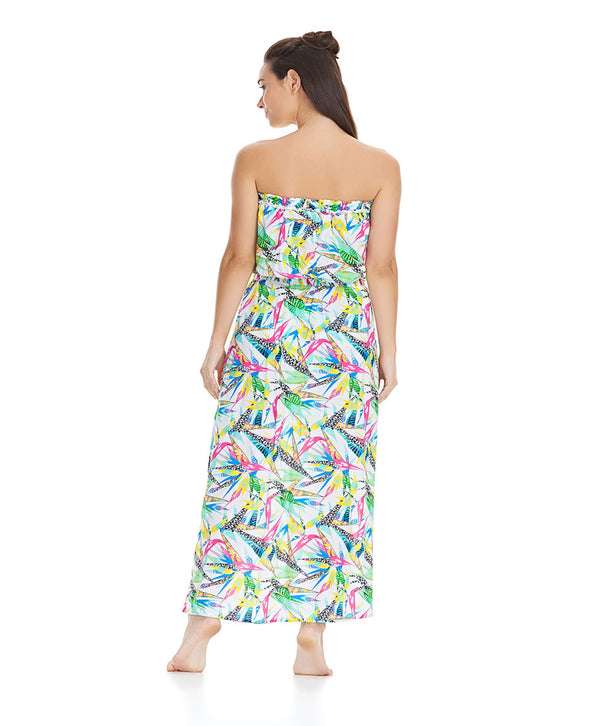 Freya Tropicool Bandeau Maxi Dress, Multi