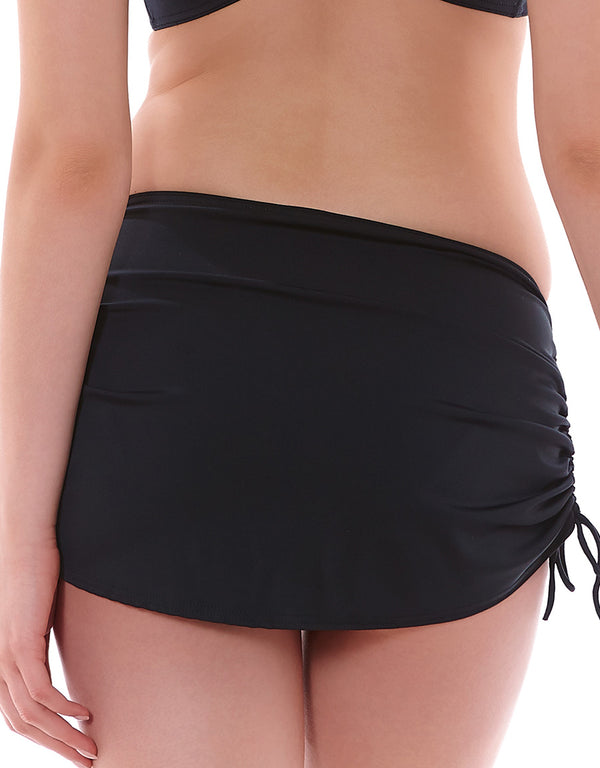 Freya Remix Skirted Bikini Brief, Black