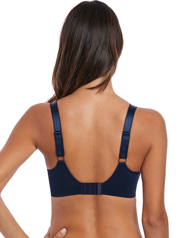 Fantasie Memoir Uw Full Cup Side Support Bra, Navy