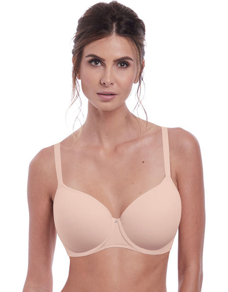 Fantasie Aura Moulded T-shirt Uw Bra, Natural Beige