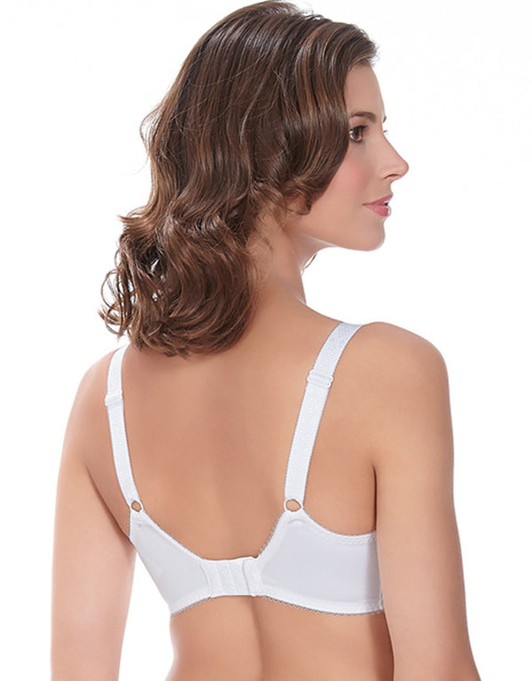 Fantasie Jacqueline Underwire Side Support Full Cup Bra, White