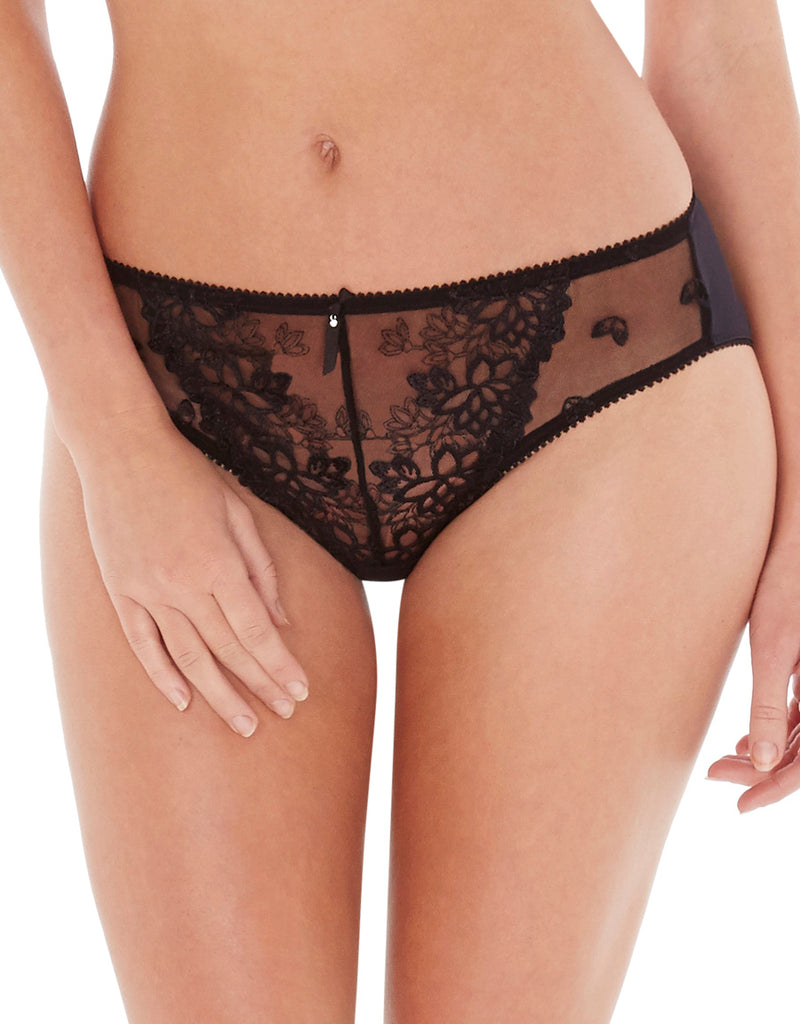 Charnos Suzette Thong, Black