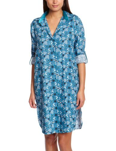 Cyberjammies Monets Storm Reindeer Nightshirt, Blue