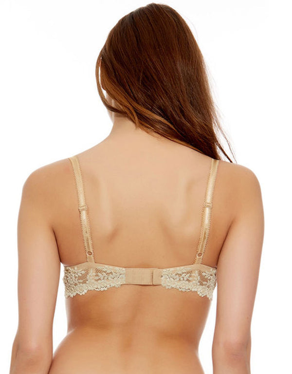 Wacoal Embrace Lace Contour Underwire Bra, Naturally Nude