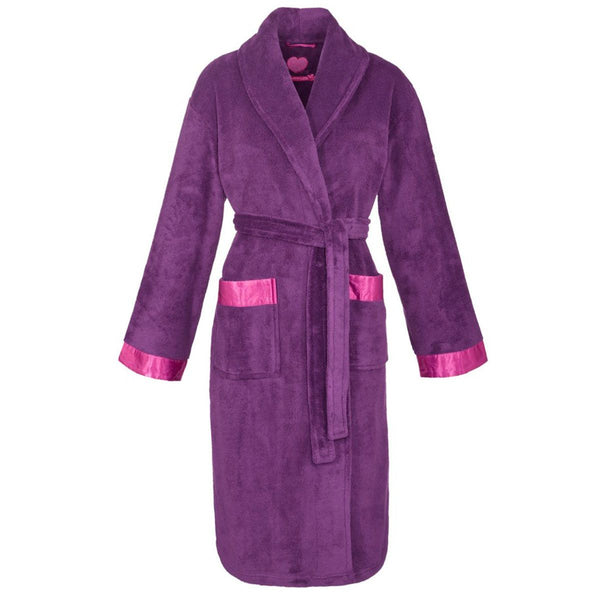 Cyberjammies Women's Bathrobe, Purple