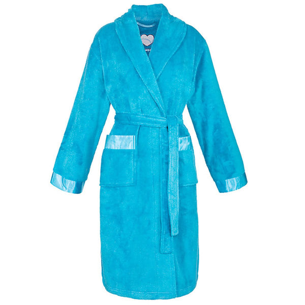 Cyberjammies Women's Bathrobe, Teal