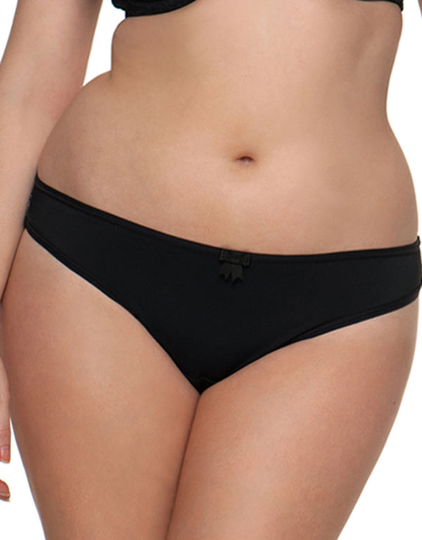 Curvy Kate Daily Dream Brazilian Brief, Black