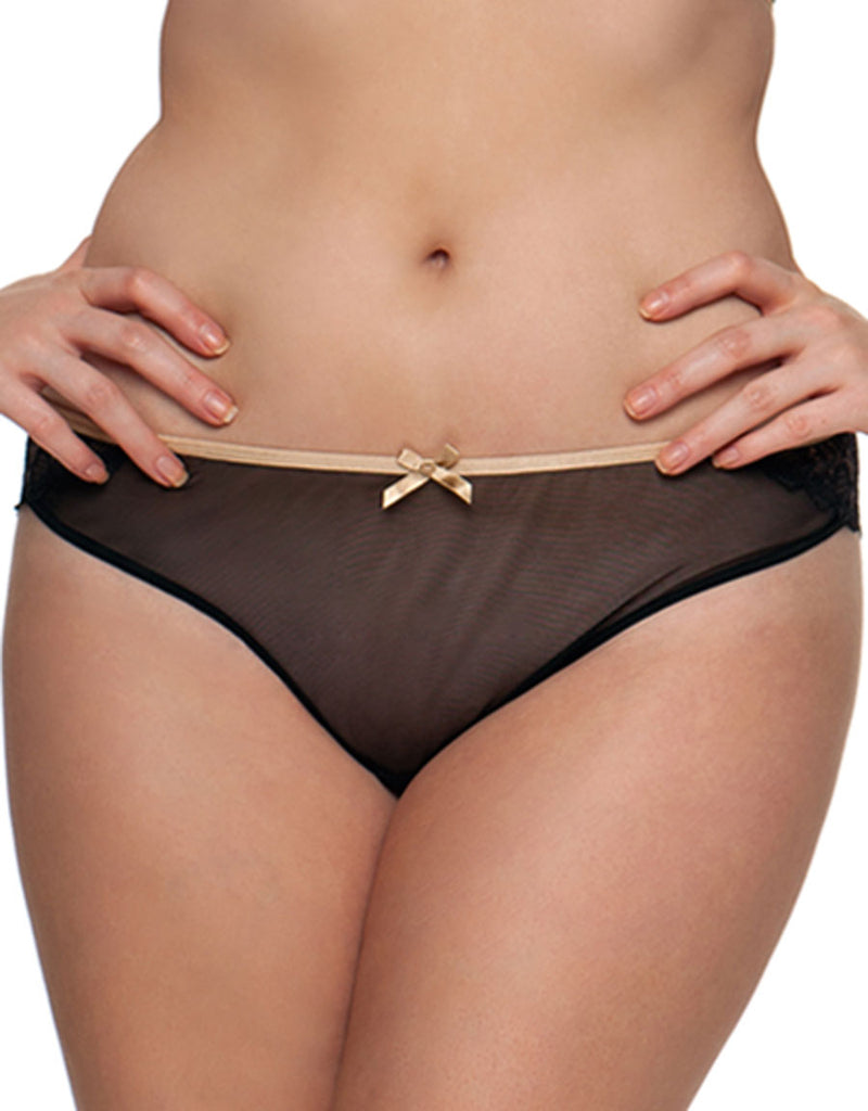 Curvy Kate Ellace Thong, Black