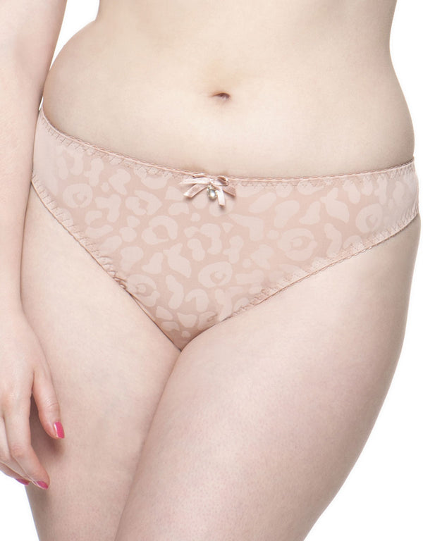 Curvy Kate Smoothie Thong, Wild Blush