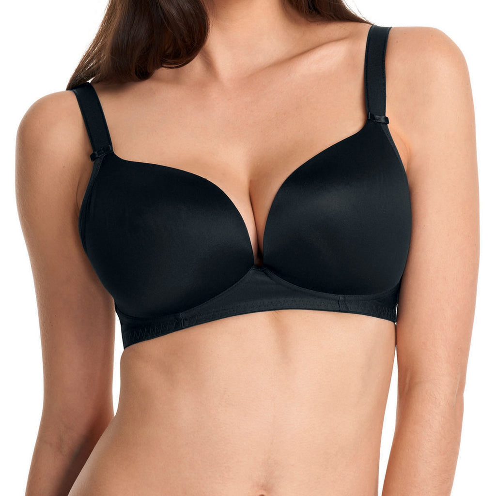 Freya Deco Molded Soft Cup Bra, Black
