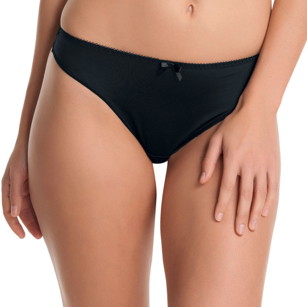 Freya Deco Thong, Black