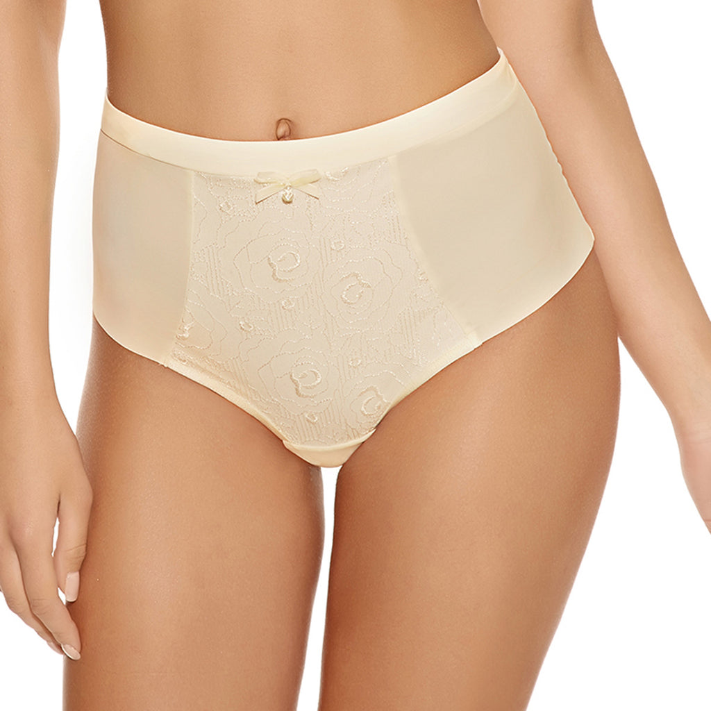 Freya Deco Darling High Waist Smoothing Brief, Ivory