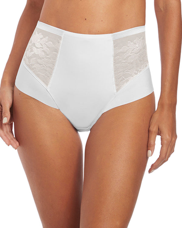 Fantasie Illusion High Waist Brief, White
