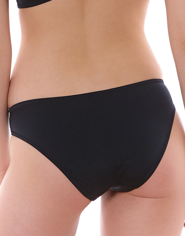 Freya Remix Italian Bikini Brief, Black