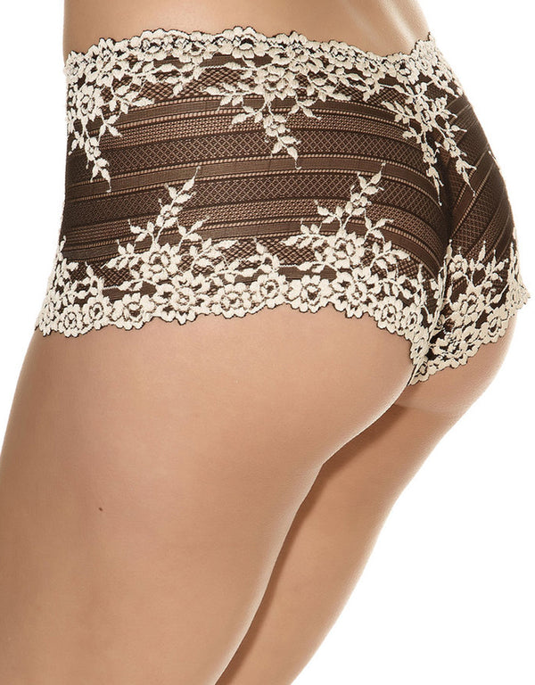 Wacoal Embrace Lace Boyshort, Black